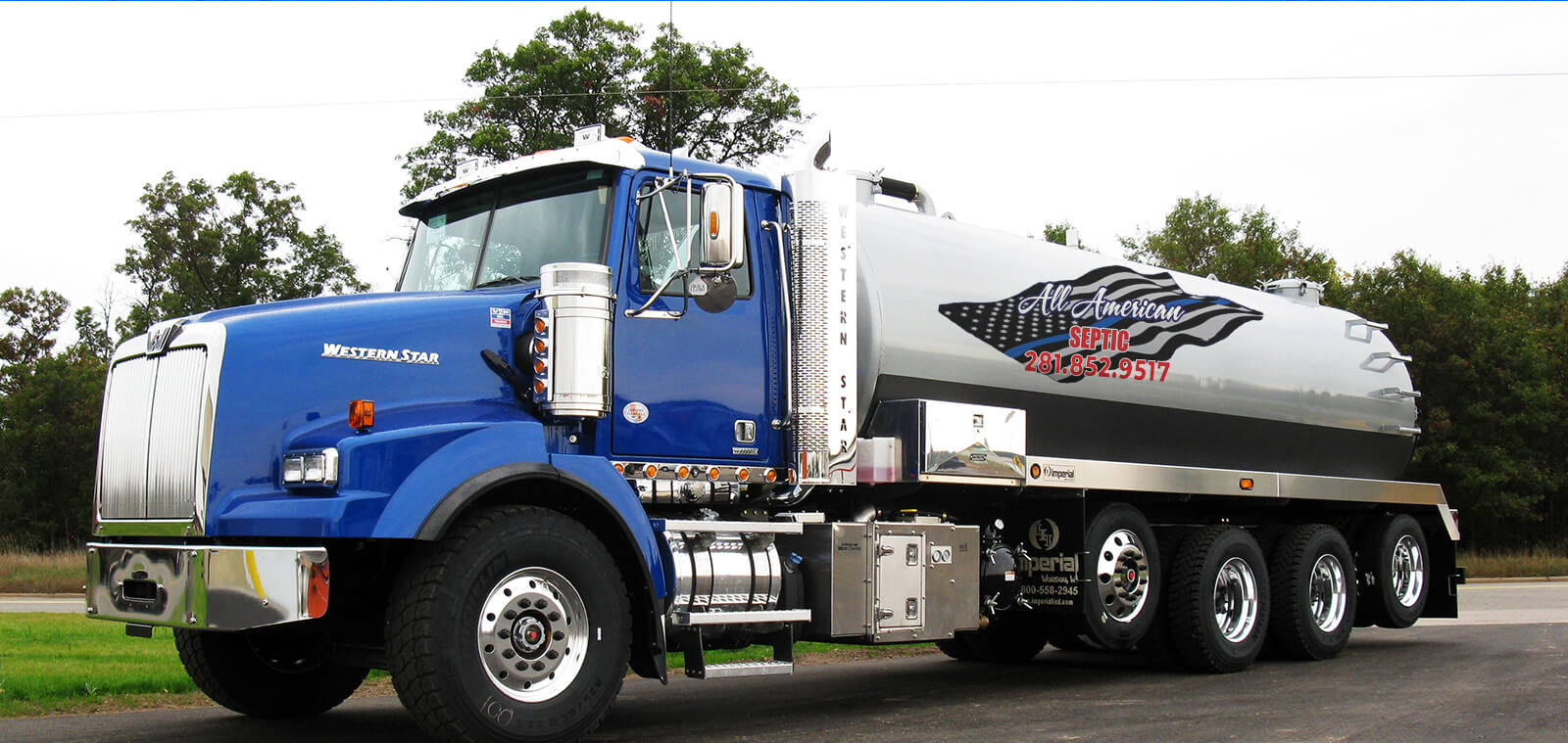 Largest Septic Specialist in the Houston area.